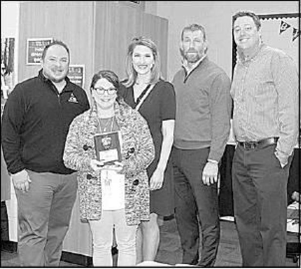 KAKE-TV honors teacher with local ties