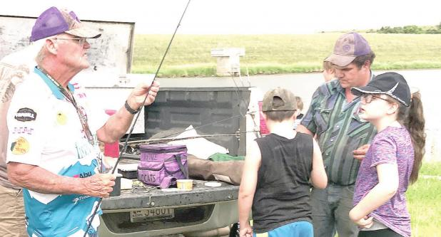 Local Fishing Clinic held