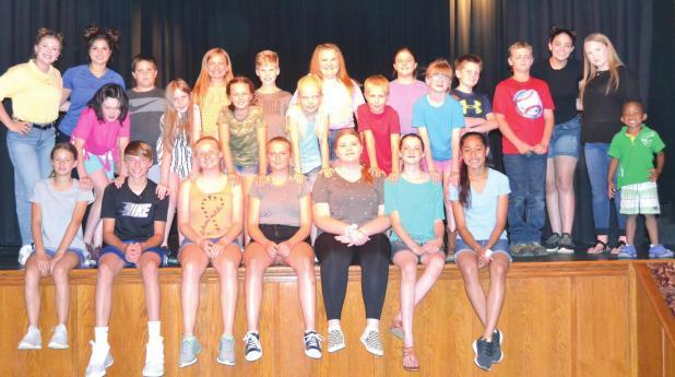 "Children's summer theatre academy presents ""A Dollop of Disney"""