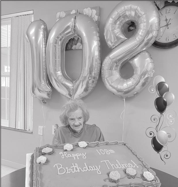Thelma Smith turns 108