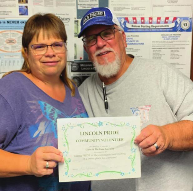 Gurney's receive PRIDE's Community Volunteer award