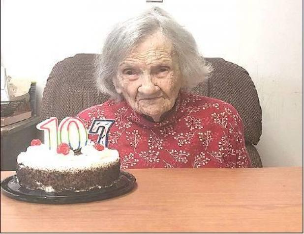 Thelma Smith celebrates 107th Birthday!
