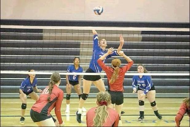 Tescott volleyball stays busy