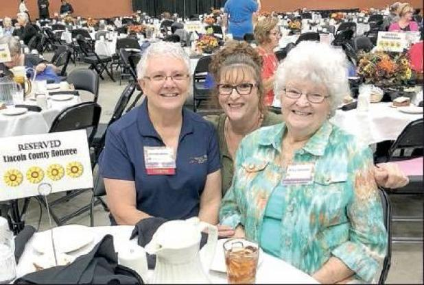 Swenson honored at Sunflower Fair