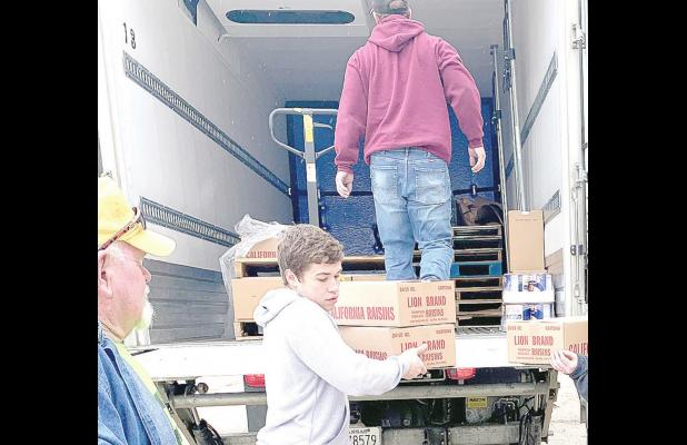 Lincoln Senior Center helps feed the county