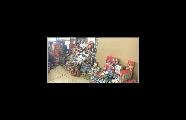 Over 1,000 items collected for the Lincoln County Food Pantry