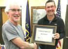 Thompson honored for 40 years of service to the City